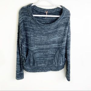 Free People Sweater w/ Front Pockets